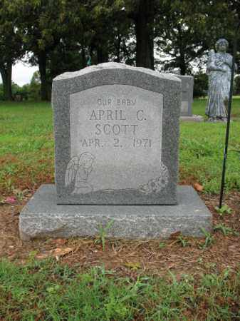 SCOTT, APRIL C - St. Francis County, Arkansas | APRIL C SCOTT - Arkansas Gravestone Photos