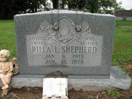 SHEPHERD, RILLA L - St. Francis County, Arkansas | RILLA L SHEPHERD - Arkansas Gravestone Photos