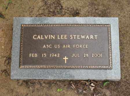 STEWART (VETERAN), CALVIN LEE - St. Francis County, Arkansas | CALVIN LEE STEWART (VETERAN) - Arkansas Gravestone Photos