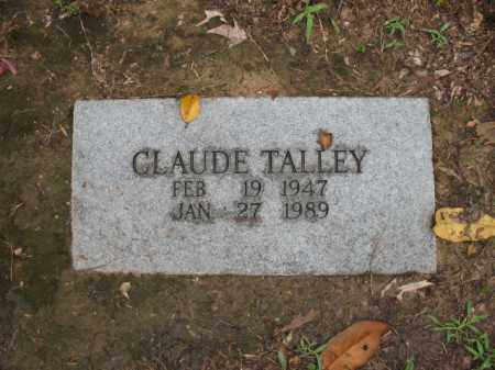 TALLEY, CLAUDE - St. Francis County, Arkansas | CLAUDE TALLEY - Arkansas Gravestone Photos