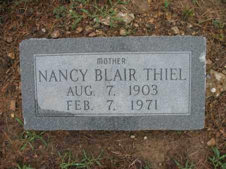 BLAIR THIEL, NANCY - St. Francis County, Arkansas | NANCY BLAIR THIEL - Arkansas Gravestone Photos