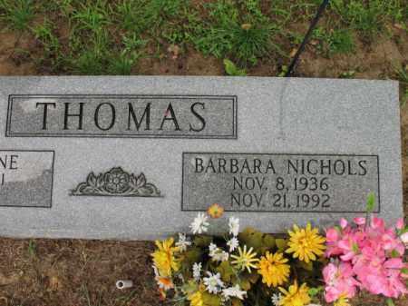 NICHOLS THOMAS, BARBARA - St. Francis County, Arkansas | BARBARA NICHOLS THOMAS - Arkansas Gravestone Photos