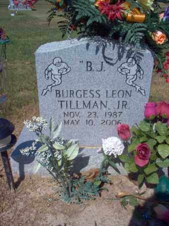 "TILLMAN, JR., BURGESS LEON ""B J"" - St. Francis County, Arkansas 