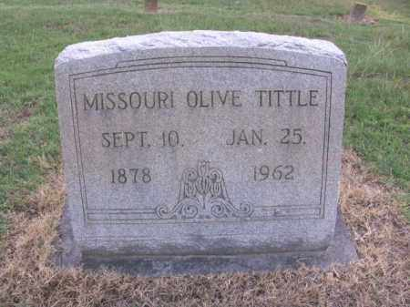 TITTLE, MISSOURI OLIVE - St. Francis County, Arkansas | MISSOURI OLIVE TITTLE - Arkansas Gravestone Photos