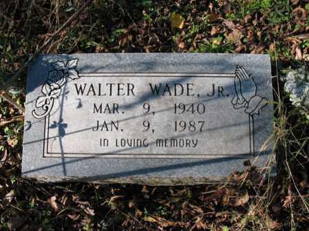 WADE, JR., WALTER - St. Francis County, Arkansas | WALTER WADE, JR. - Arkansas Gravestone Photos