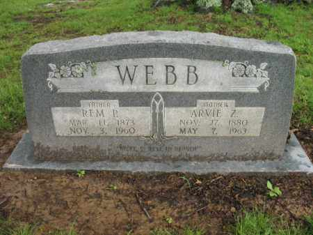 WEBB, REM P - St. Francis County, Arkansas | REM P WEBB - Arkansas Gravestone Photos