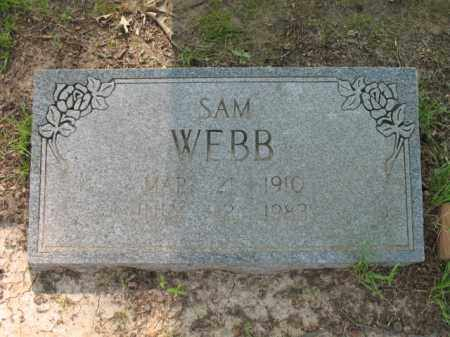 WEBB, SAM - St. Francis County, Arkansas | SAM WEBB - Arkansas Gravestone Photos