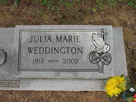 KELSO WEDDINGTON, JULIA MARIE - St. Francis County, Arkansas | JULIA MARIE KELSO WEDDINGTON - Arkansas Gravestone Photos