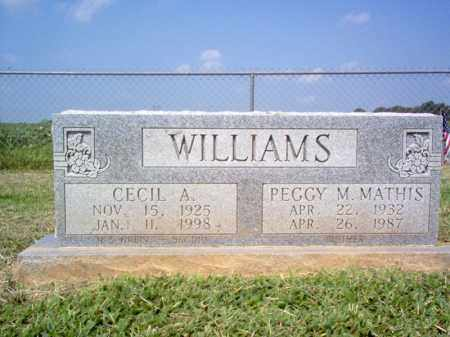 WILLIAMS, CECIL ALBERT - St. Francis County, Arkansas | CECIL ALBERT WILLIAMS - Arkansas Gravestone Photos