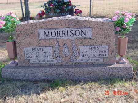 MORRISON, JAMES SAMUEL ONIS - Stone County, Arkansas | JAMES SAMUEL ONIS MORRISON - Arkansas Gravestone Photos