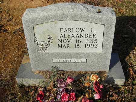 ALEXANDER, EARLOW L - Stone County, Arkansas | EARLOW L ALEXANDER - Arkansas Gravestone Photos