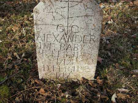 ALEXANDER, GC - Stone County, Arkansas | GC ALEXANDER - Arkansas Gravestone Photos