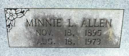 ALLEN, MINNIE L. - Stone County, Arkansas | MINNIE L. ALLEN - Arkansas Gravestone Photos