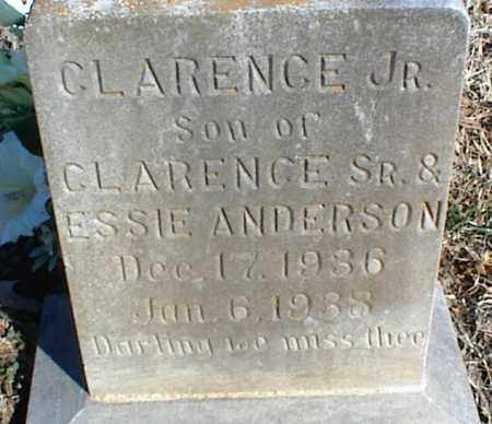 ANDERSON, CLARENCE JR. - Stone County, Arkansas | CLARENCE JR. ANDERSON - Arkansas Gravestone Photos