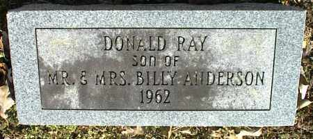 ANDERSON, DONALD RAY - Stone County, Arkansas | DONALD RAY ANDERSON - Arkansas Gravestone Photos