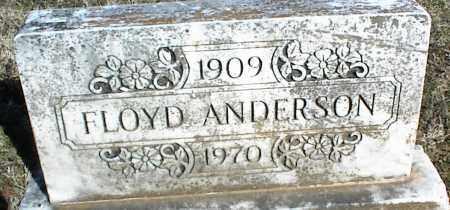 ANDERSON, FLOYD - Stone County, Arkansas | FLOYD ANDERSON - Arkansas Gravestone Photos