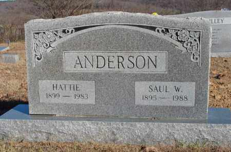 LAWRENCE ANDERSON, HATTIE - Stone County, Arkansas | HATTIE LAWRENCE ANDERSON - Arkansas Gravestone Photos