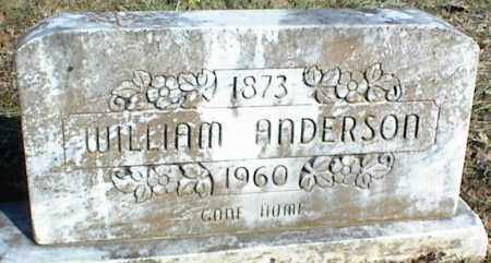 ANDERSON, WILLIAM - Stone County, Arkansas | WILLIAM ANDERSON - Arkansas Gravestone Photos