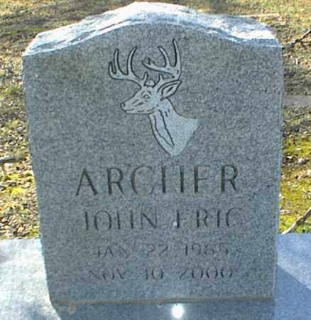 ARCHER, JOHN ERIC - Stone County, Arkansas | JOHN ERIC ARCHER - Arkansas Gravestone Photos