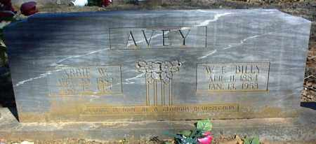 AVEY, ABBIE W. - Stone County, Arkansas | ABBIE W. AVEY - Arkansas Gravestone Photos
