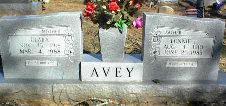 AVEY, CLARA - Stone County, Arkansas | CLARA AVEY - Arkansas Gravestone Photos