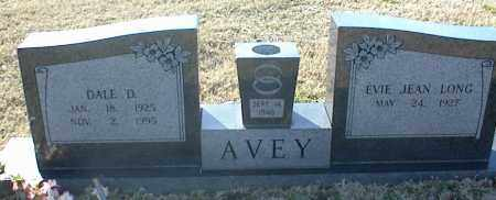 AVEY, DALE D. - Stone County, Arkansas | DALE D. AVEY - Arkansas Gravestone Photos