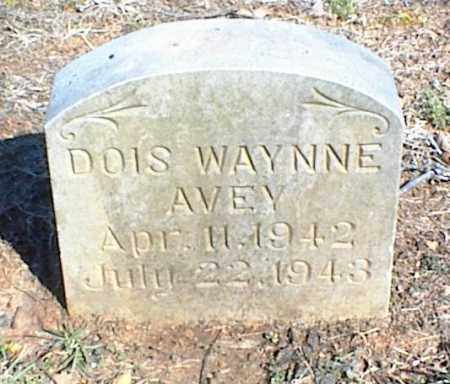 AVEY, DOIS WAYNNE - Stone County, Arkansas   DOIS WAYNNE AVEY - Arkansas Gravestone Photos