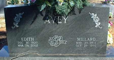AVEY, EDITH - Stone County, Arkansas | EDITH AVEY - Arkansas Gravestone Photos