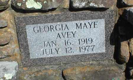 AVEY, GEORGIA MAYE - Stone County, Arkansas | GEORGIA MAYE AVEY - Arkansas Gravestone Photos