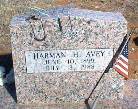 AVEY, HARMAN H. - Stone County, Arkansas | HARMAN H. AVEY - Arkansas Gravestone Photos