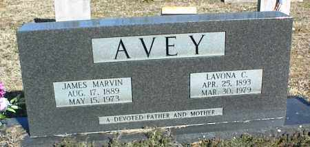 AVEY, JAMES MARVIN - Stone County, Arkansas | JAMES MARVIN AVEY - Arkansas Gravestone Photos
