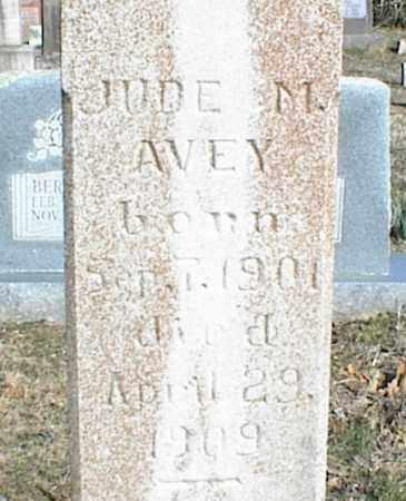 AVEY, JUDE M. - Stone County, Arkansas | JUDE M. AVEY - Arkansas Gravestone Photos