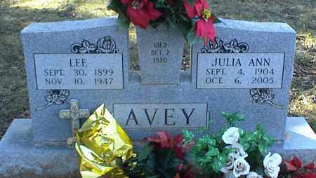 AVEY, JULIA ANN - Stone County, Arkansas | JULIA ANN AVEY - Arkansas Gravestone Photos