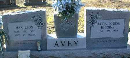 AVEY, MAX LEON - Stone County, Arkansas | MAX LEON AVEY - Arkansas Gravestone Photos