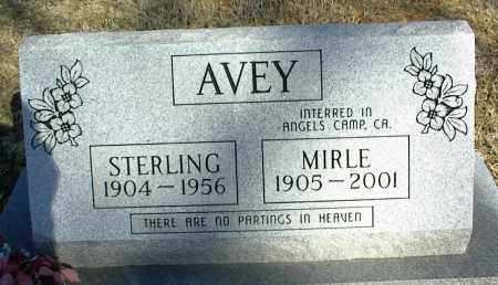 AVEY, STERLING - Stone County, Arkansas | STERLING AVEY - Arkansas Gravestone Photos