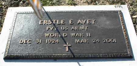 AVEY (VETERAN WWII), ERSTLE E - Stone County, Arkansas | ERSTLE E AVEY (VETERAN WWII) - Arkansas Gravestone Photos