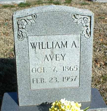 AVEY, WILLIAM A. - Stone County, Arkansas | WILLIAM A. AVEY - Arkansas Gravestone Photos