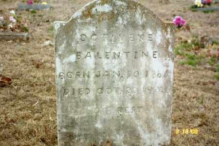 BALENTINE, NANCY OCTIVENE - Stone County, Arkansas | NANCY OCTIVENE BALENTINE - Arkansas Gravestone Photos