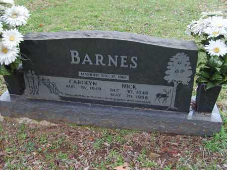 BARNES, NICK - Stone County, Arkansas | NICK BARNES - Arkansas Gravestone Photos