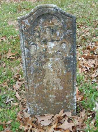 BICKLE, INFANT DAUGHTER - Stone County, Arkansas | INFANT DAUGHTER BICKLE - Arkansas Gravestone Photos