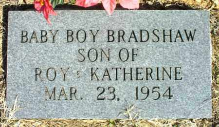 BRADSHAW, BABY BOY - Stone County, Arkansas | BABY BOY BRADSHAW - Arkansas Gravestone Photos