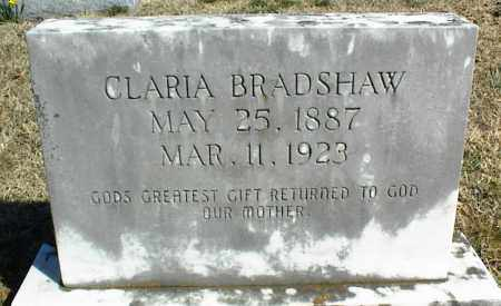 BRADSHAW, CLARIA - Stone County, Arkansas | CLARIA BRADSHAW - Arkansas Gravestone Photos