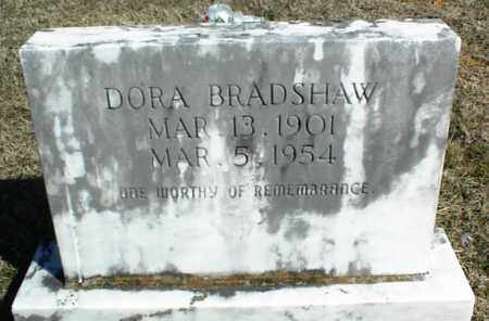 BRADSHAW, DORA - Stone County, Arkansas | DORA BRADSHAW - Arkansas Gravestone Photos