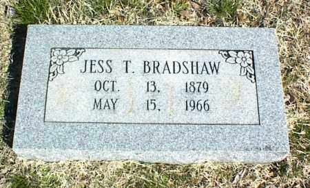 BRADSHAW, JESS T. - Stone County, Arkansas | JESS T. BRADSHAW - Arkansas Gravestone Photos