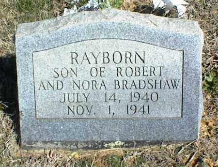 BRADSHAW, RAYBORN - Stone County, Arkansas | RAYBORN BRADSHAW - Arkansas Gravestone Photos