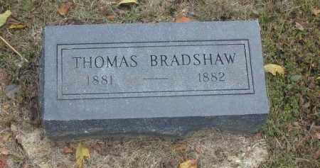 BRADSHAW, THOMAS - Stone County, Arkansas | THOMAS BRADSHAW - Arkansas Gravestone Photos