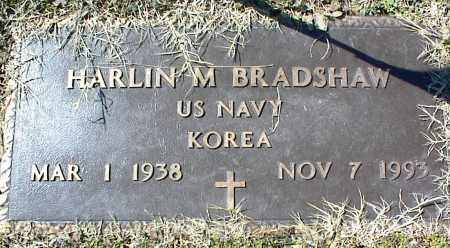 BRADSHAW (VETERAN KOR), HARLIN M - Stone County, Arkansas | HARLIN M BRADSHAW (VETERAN KOR) - Arkansas Gravestone Photos