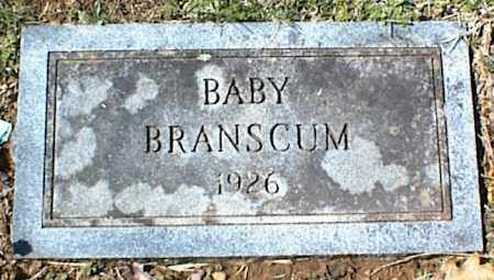 BRANSCUM, BABY - Stone County, Arkansas | BABY BRANSCUM - Arkansas Gravestone Photos