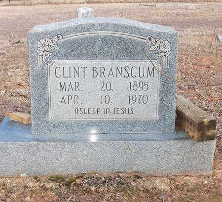 BRANSCUM, CLINTON E. - Stone County, Arkansas | CLINTON E. BRANSCUM - Arkansas Gravestone Photos