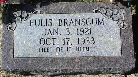 BRANSCUM, EULIS - Stone County, Arkansas | EULIS BRANSCUM - Arkansas Gravestone Photos